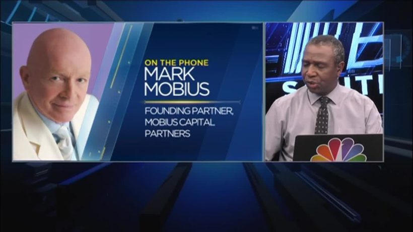 Mobius: Why it's best to keep your powder dry as stocks plunge