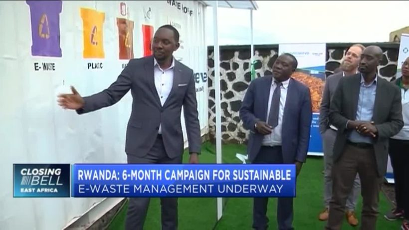 Rwanda to set up e-waste collection points to manage waste