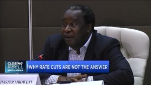 Finmin Mboweni on why interest-rate cuts are not the answer