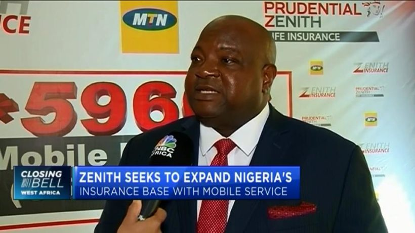 Zenith seeks to expand Nigeria's insurance base with mobile service