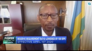 Central Bank of Rwanda takes measures to mitigate the economic impact of COVID-19