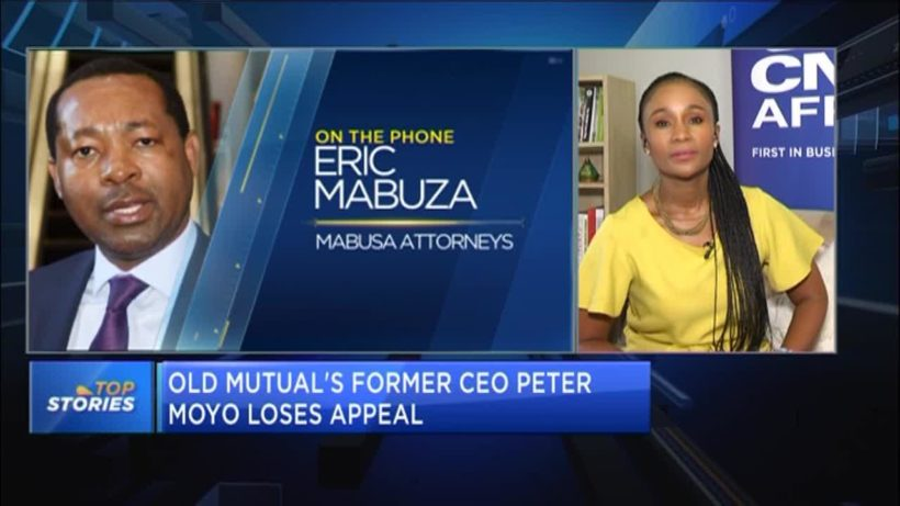 Old Mutual's former CEO Peter Moyo loses appeal