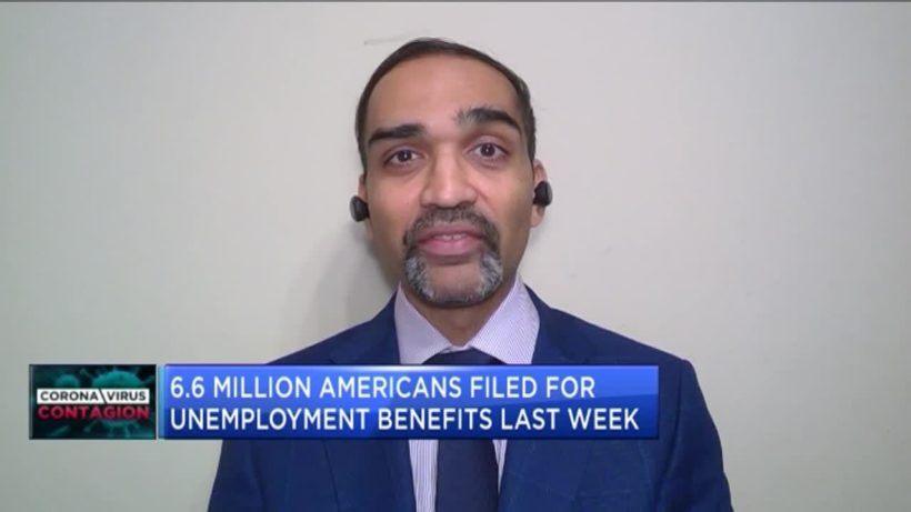 Record 6.6 million Americans file for unemployment benefits as COVID-19 crisis deepens