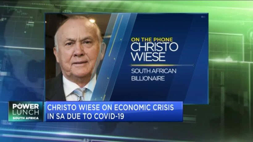 African billionaire Christo Wiese on COVID-19 crisis and its impact on SA's economy