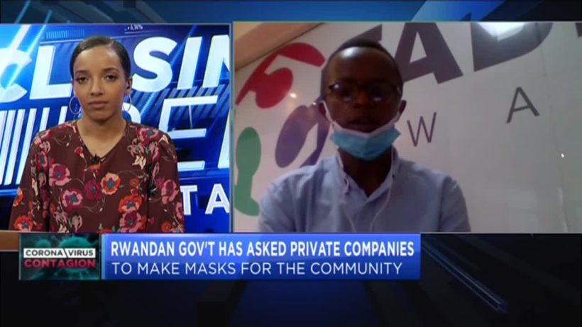 This Rwandan company is helping to produce PPE to fight COVID-19 spread