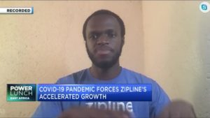 African health start-up Zipline on the forefront of COVID-19 fight