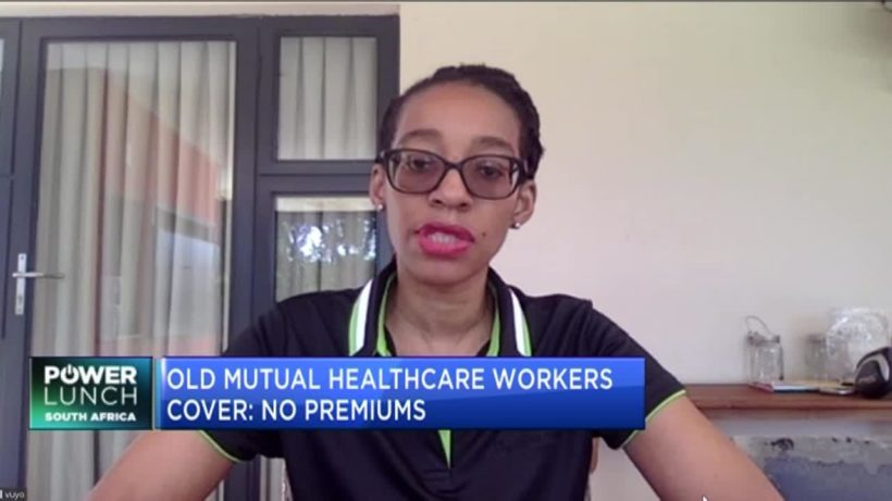 How Old Mutual is helping healthcare workers at the forefront of COVID-19 fight