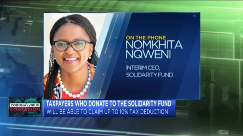 COVID-19: Nomkhita Nqweni gives update on the Solidarity Fund