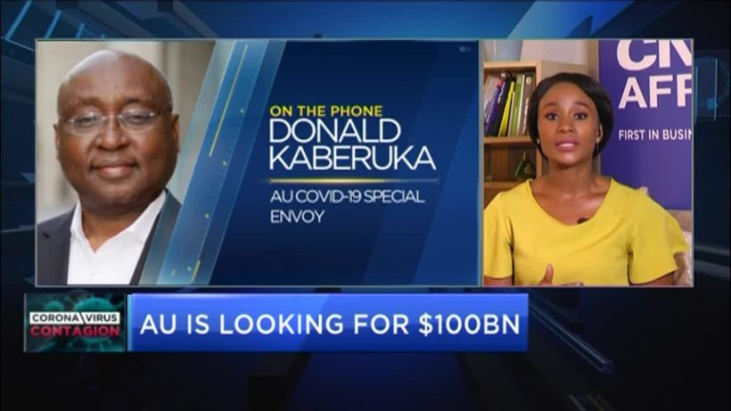 Donald Kaberuka: AU is looking for $100bn to fight COVID-19 on the continent