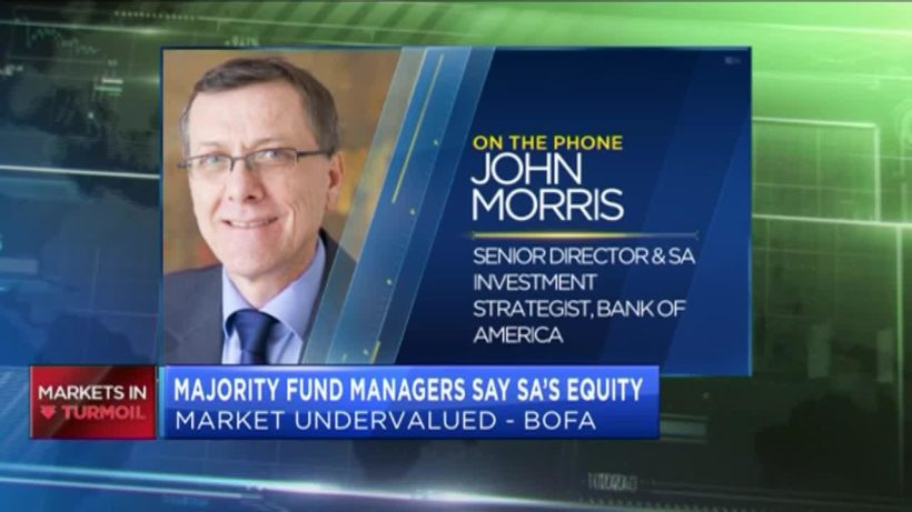 Majority fund managers say SA's equity market undervalued – survey