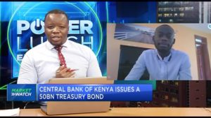 Central Bank of Kenya issues a 5-year Ksh50bn bond for budgetary support