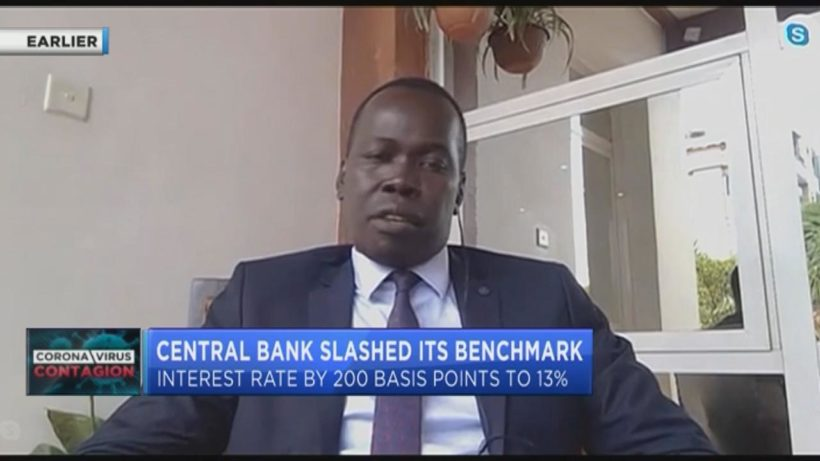 South Sudan's Central Bank slashes benchmark rate to 13% in response to COVID-19