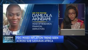 FDC forecasts 0.69% rise in Nigeria's inflation to 12.95% in April