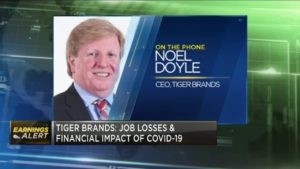 Tiger Brands CEO on results & how the company is responding to COVID-19 shocks