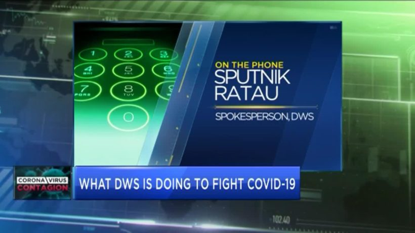 What is DWS doing to fight corruption & COVID-19?