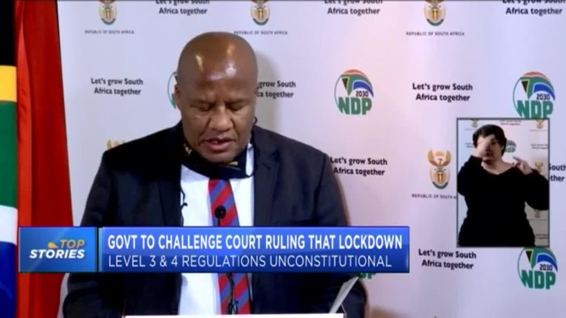 SA govt. to challenge court ruling on constitutionality of lock-down regulations