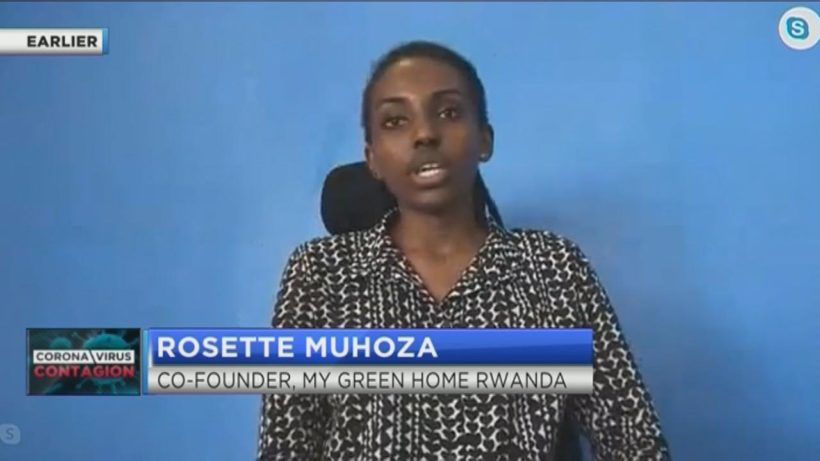 Rosette Muhoza on the environmental opportunity created by COVID-19