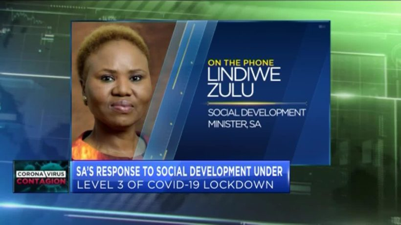 How is South Africa responding to social development in level 3 lock-down?
