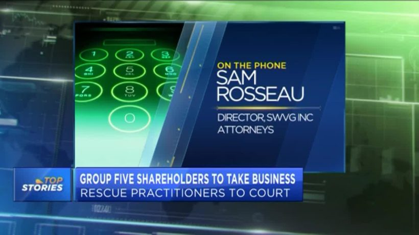 Group Five shareholders take business rescue practitioners to court