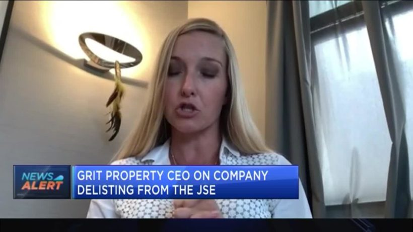 Grit Real Estate CEO on company delisting from the JSE