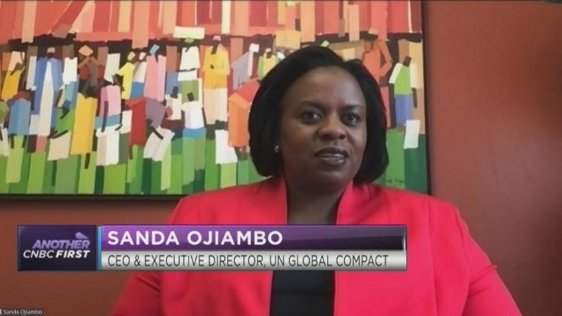 UN Global Compact's CEO Sanda Ojiambo on how business can help economies recover from COVID-19 crisis