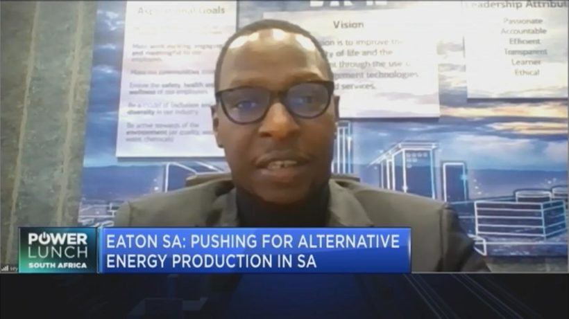 Eaton SA on the case for alternative energy production in South Africa