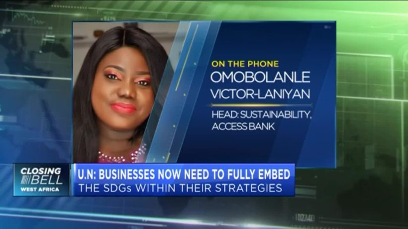 Access Bank on the role of business in achieving SDGs