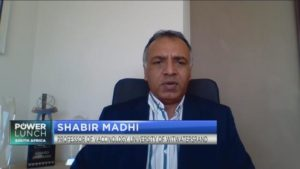 Professor Shabir Madhi gives update on SA's first COVID-19 vaccine trials