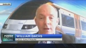 William Dachs on how COVID-19 is impacting Gautrain operations