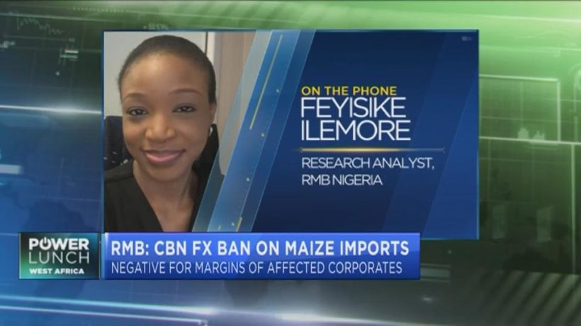 How CBN's forex restrictions for maize impacts corporates