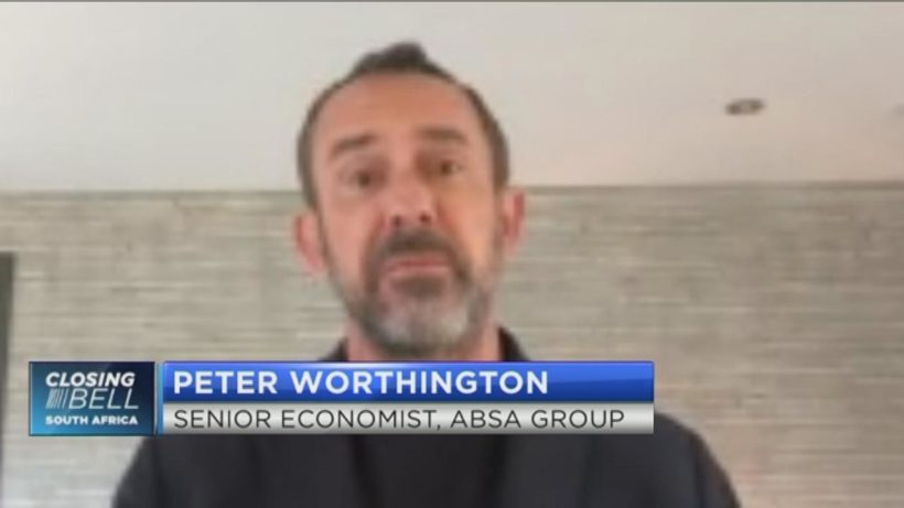 Another rate cut on the cards tomorrow, says Absa's Peter Worthington