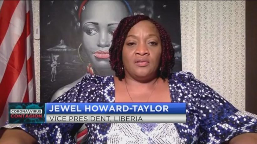 Liberia's Jewel Howard-Taylor outlines plans to mitigate the impact of COVID-19