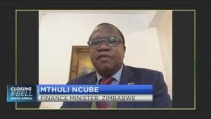 """EXCLUSIVE: """"I can assure you that this agreement will be honoured in dollars"""" Zimbabwe's finance minister Mthuli Ncube on the $3.5 billion deal with farmers"""