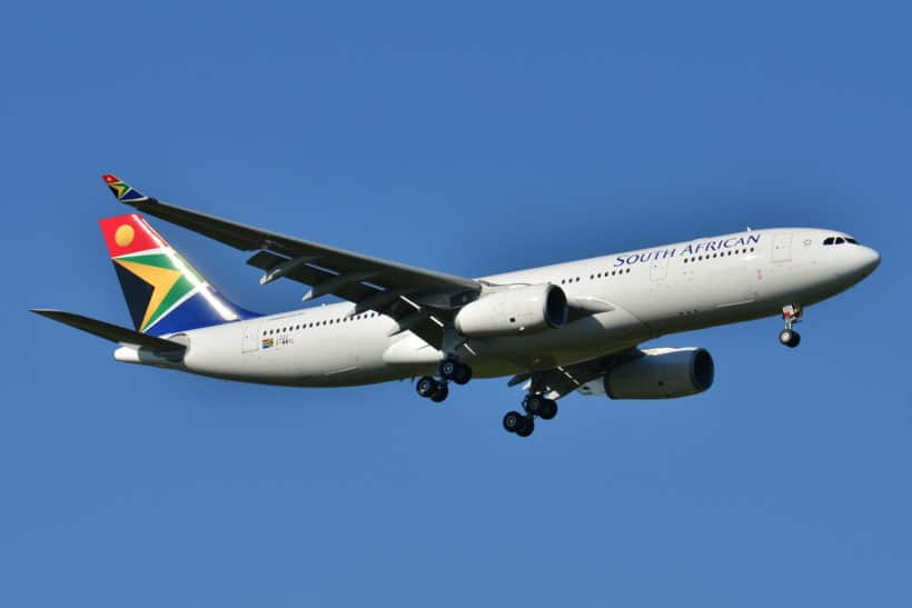 Airline Passenger Traffic sinks 90.1% in Africa during August