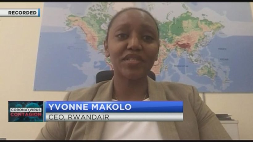 Rwandair CEO Yvonne Makolo on lessons learned from the COVID-19 crisis