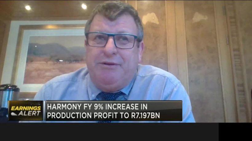 Harmony Gold reports 9% increase in FY revenue