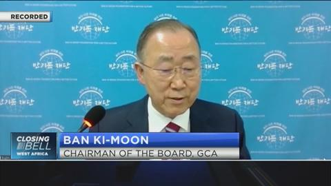 Ban Ki-Moon on how to build Africa's resilience to climate change