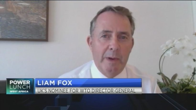 UK's Liam Fox shares his vision for global trade