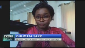 UN Women's Oulimata Sarr on how to empower women economically post-COVID-19