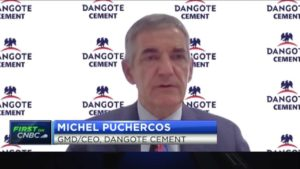 Dangote Cement's Michel Puchercos on the drivers behind solid H1 numbers