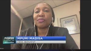 New Bidvest CEO Mpumi Madisa shares plans for the future