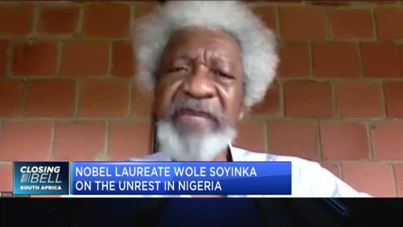 #ENDSARS: Nobel Laureate Wole Soyinka on how to address the unrest in Nigeria