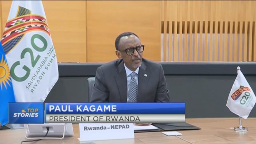 Kagame calls for equitable distribution of COVID-19 vaccine