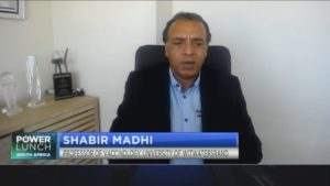 Prof Shabir Madhi gives update on COVID-19 vaccine trials in SA