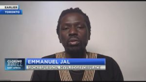 Emmanuel Jal on the economic impact of silencing guns in Africa