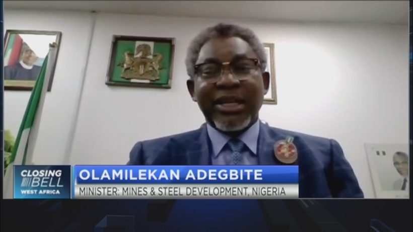 Adegbite shares post-COVID strategy for Nigeria's mining sector