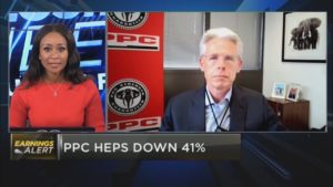PPC H1 HEPS down 41%
