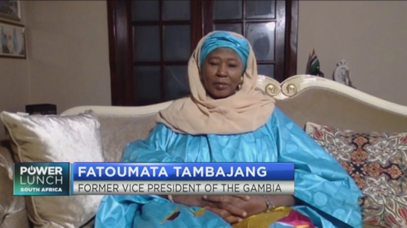 Fatoumata Tambajang on what her candidacy for Deputy Chairperson of AU Commission means