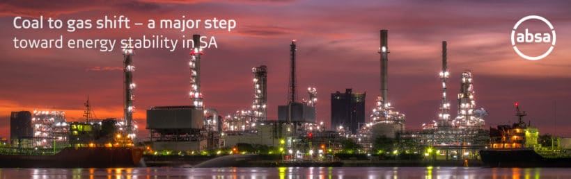 Coal to gas shift – a major step toward energy stability in SA
