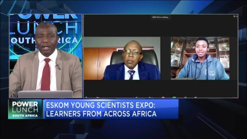 Africa's future scientists showcased at expo